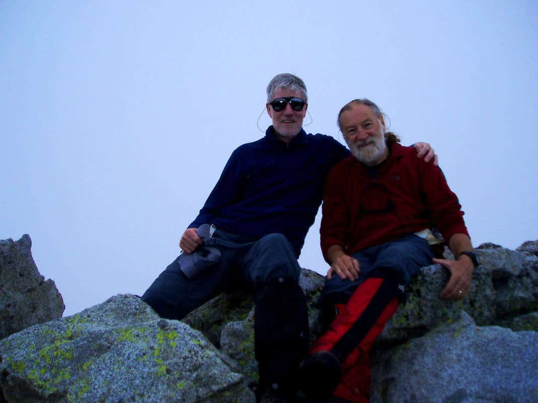 Ken & Jonnie - Pico de Alba summit
