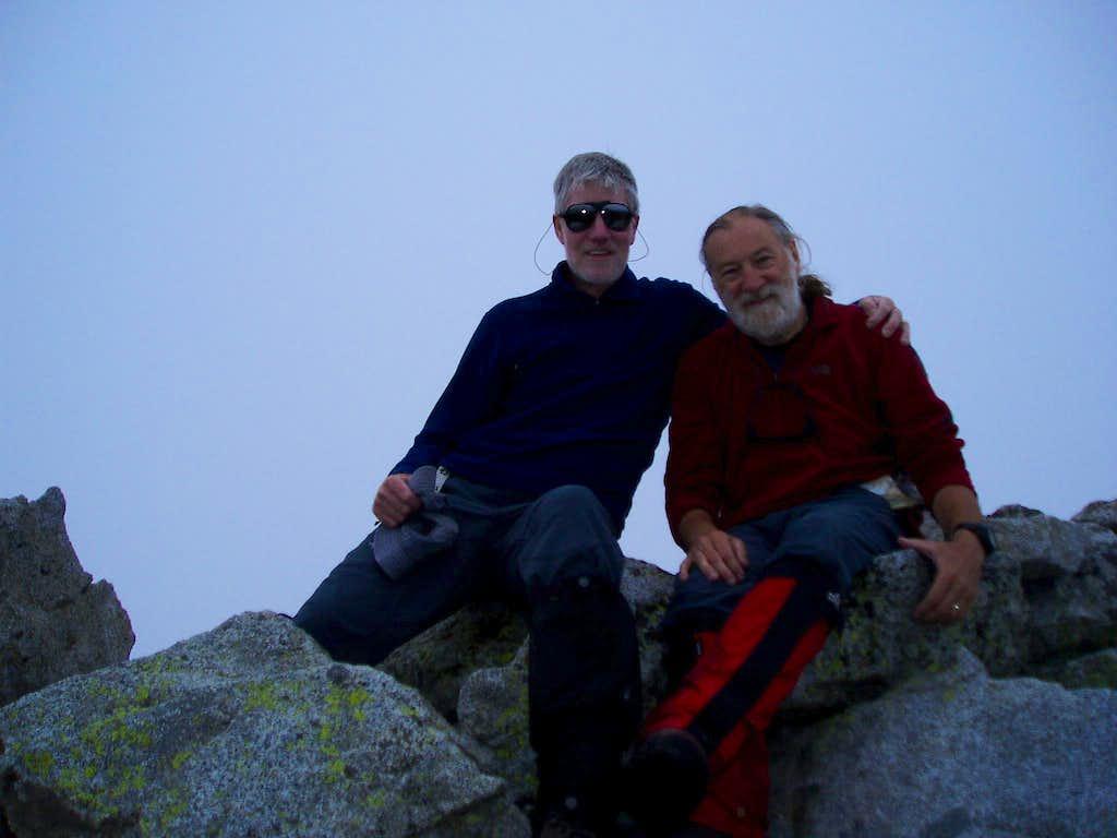 Ken & Jonnie - Pico de Alba summit