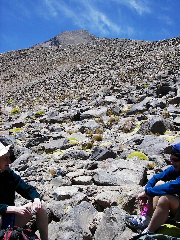 A Break on the Ridge Climb
