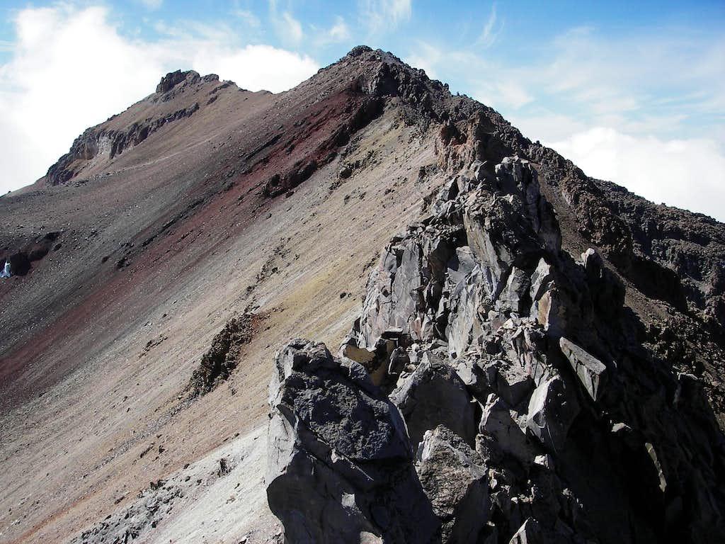 Ridge Traverse to the True Summit