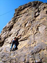 climbing at newjack