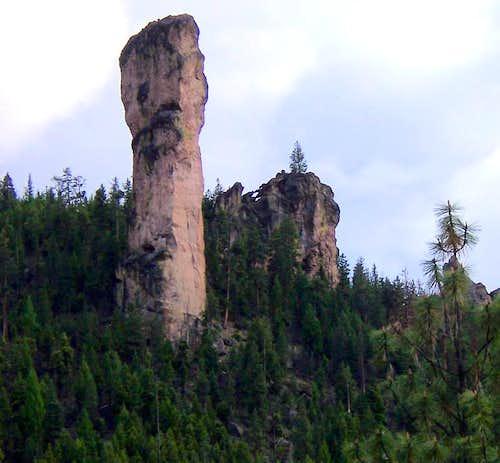 Steins's Pillar