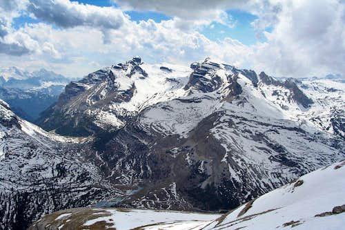Lavarella and Cunturines Spitze
