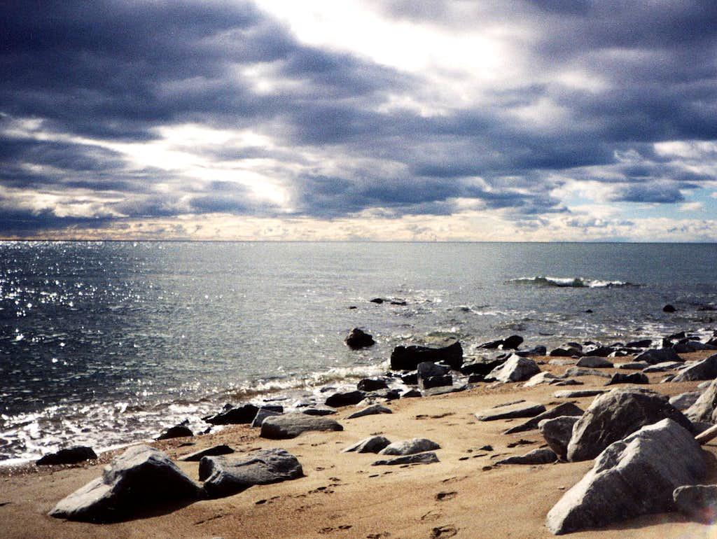 Bering seacoast, AK