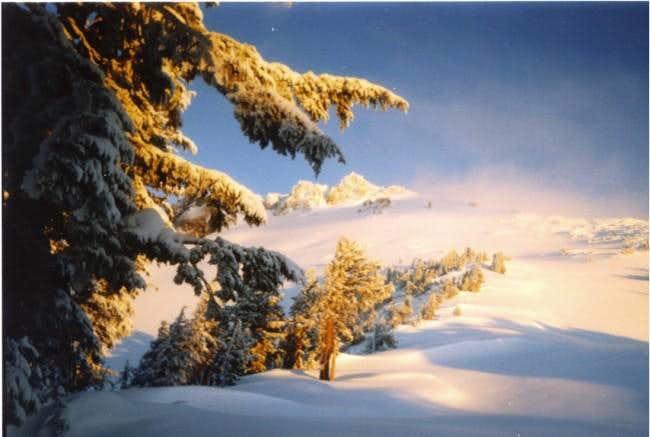 Lassen Peak from the Summit...