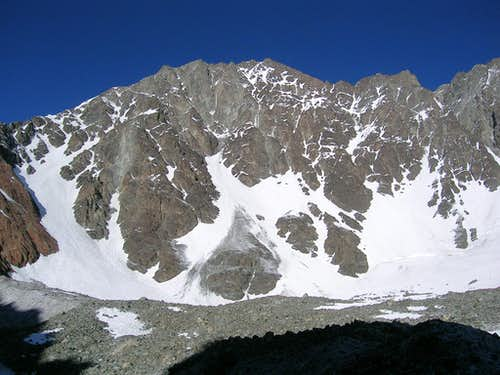 South East Face of Vallecitos