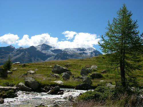 Ridge between Valgrisenche and Val di Rhemes