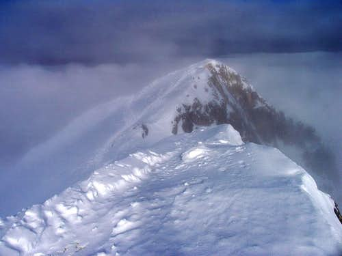 The north ridge