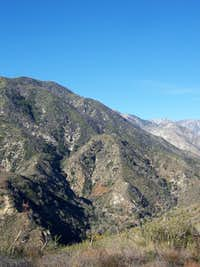 San Sevaine Lookout, San Gabriel Mountains