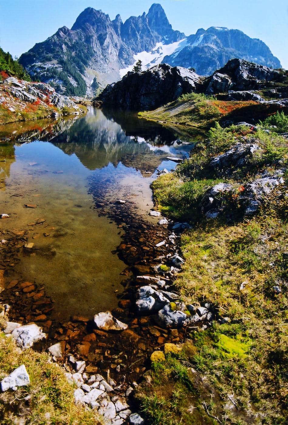 Mount Septimus Reflection