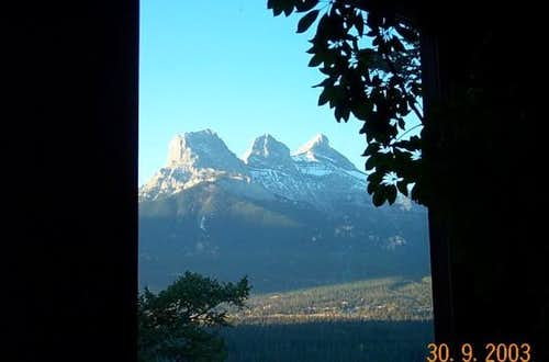 Three Sisters viewed from...