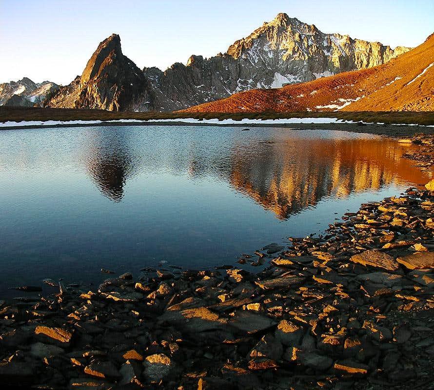 Linus Peak Reflections