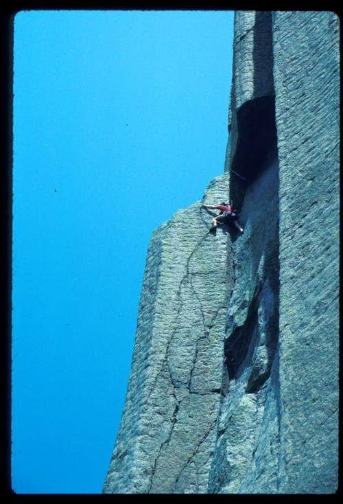 Way Layed in Devils Tower, Wyoming !!
