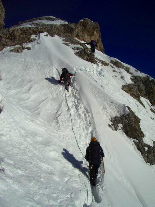 Snow passages