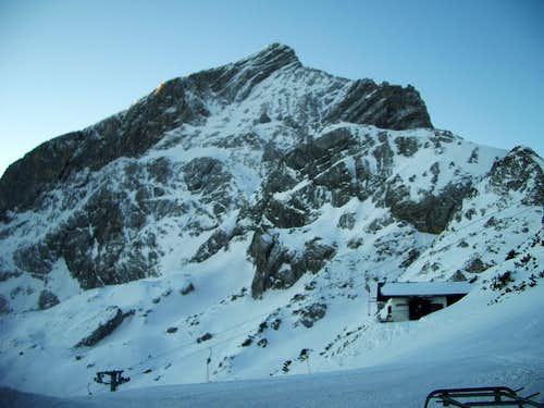 Alpspitze north face