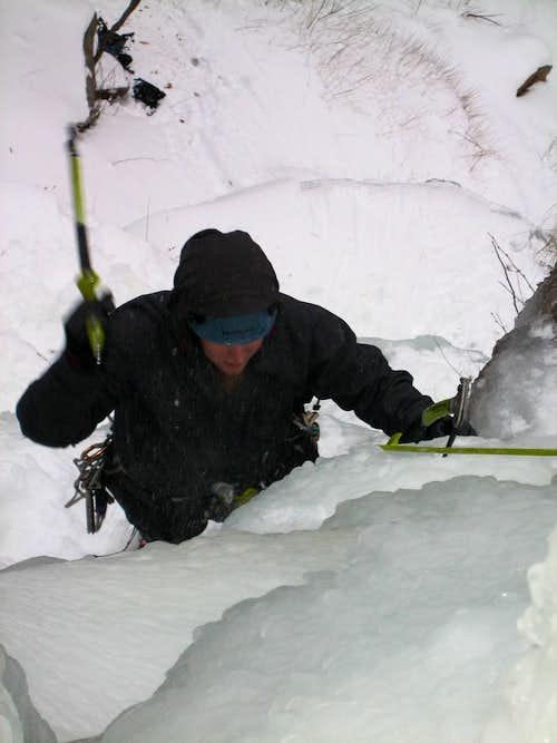 Ice Climbing Frankenstein