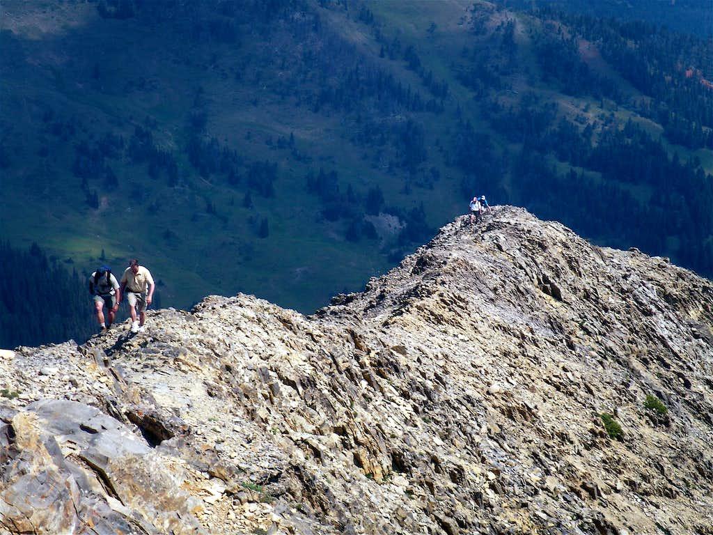 East Ridge of Sacagawea