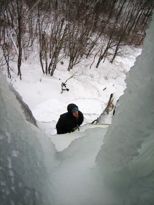 Ice Climbing at Frankenstein
