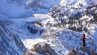 North Ridge of Lone Pine Peak, Dec 07
