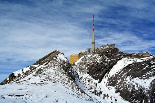 Top of Säntis