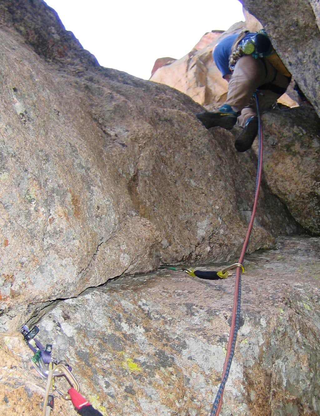Elephant's Perch Mountaineer's Route