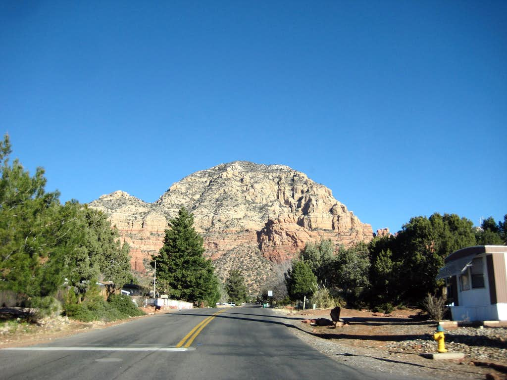 Capitol Butte from Andante Road