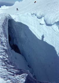 Large, open crevasses like...