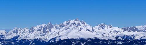 Große Bischofsmütze, 2.458m