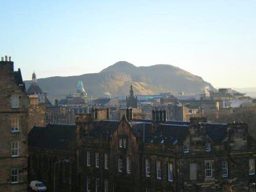 Arthur's Seat from Edinburgh