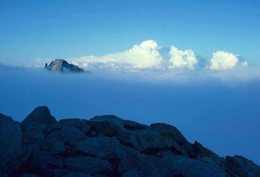 Klawatti Peak from Eldorado Peak's East Ridge