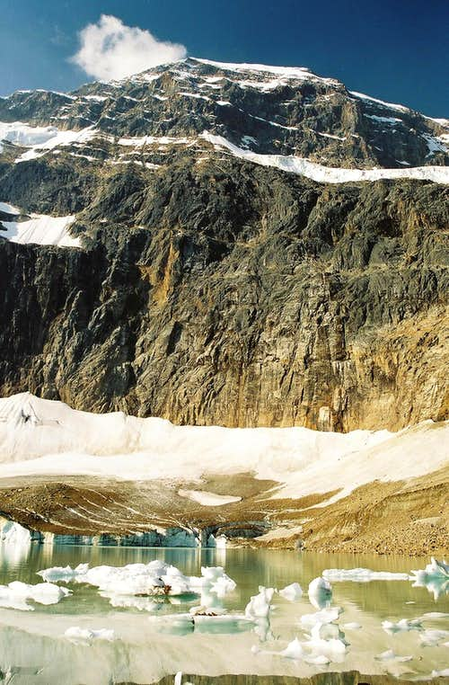 Mount Edith Cavell and Cavell Pond