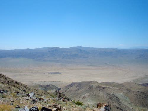 Pinto basin from the top
