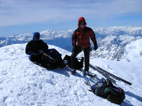 On Top of Grand Combin 4314m