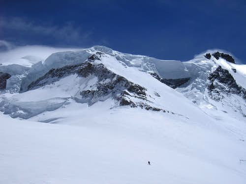 North west flank of Grand Combin 4314m