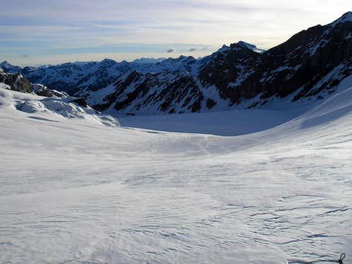 Grand Combin 4314m- Glacier de Corbassière