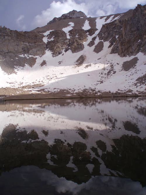 LeConte's reflection in Meysan Lake