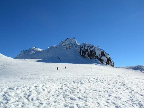 The lovely summit plateau