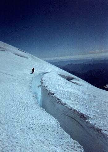 Climbing partner Dale...