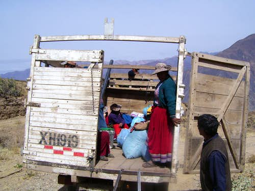 Transport to Llanca
