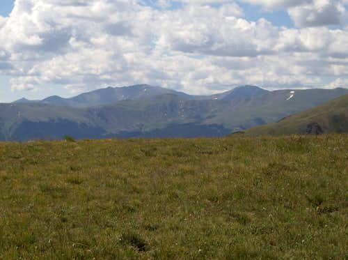 Meadows and 14ers from the East Ridge