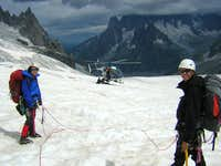 Mt Blanc - Helicopter rescue