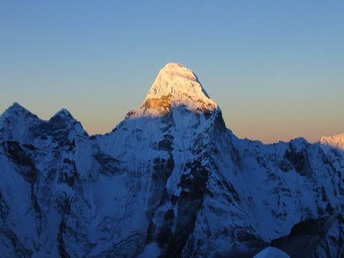 Ama Dablam at sunrise