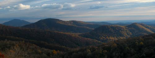 The Peak from Skyline Drive