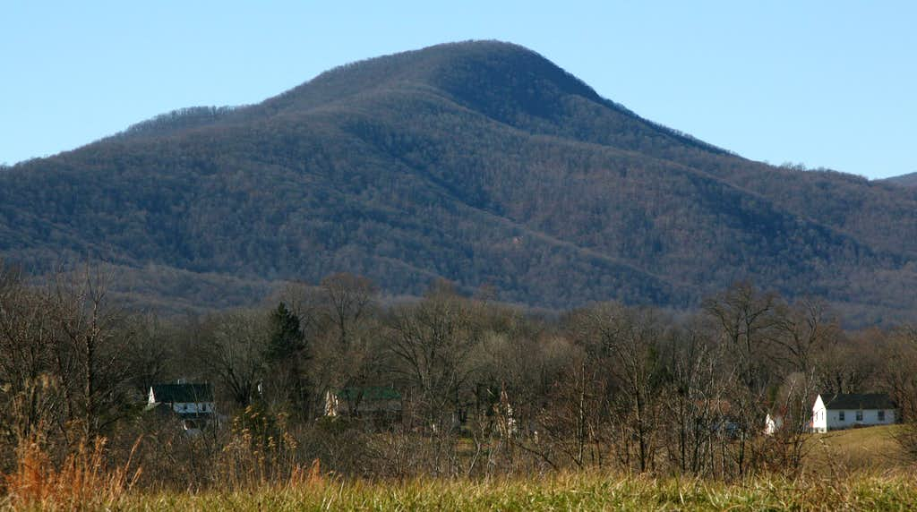 The Peak from the East