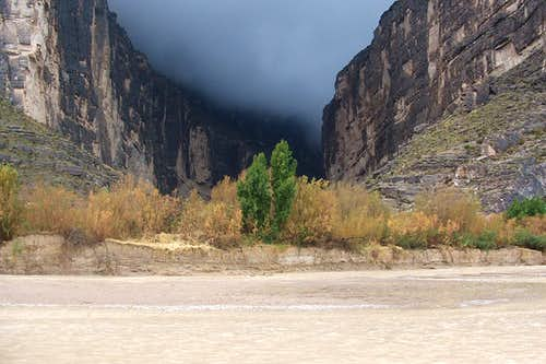 Santa Elena Canyon Storm