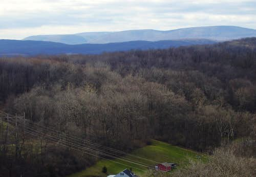 Blue Knob massif