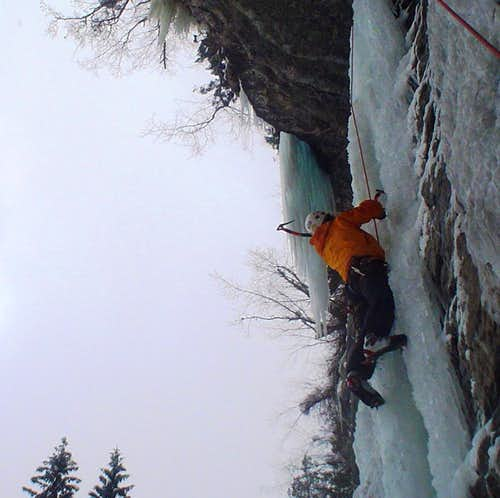 Into the Steep Ice