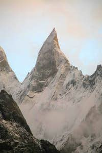Un-named 5000m Peak, Baltoro Glacier, Karakoram, Pakistan