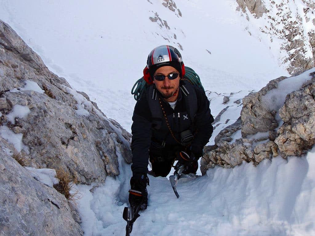 Luca on the ridge