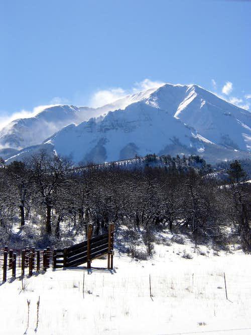 West Peak Dec 30, 2007